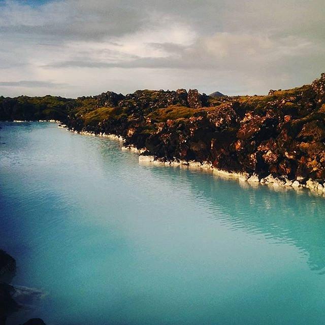Blue. Water.