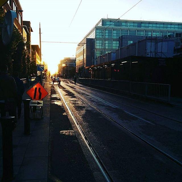 Dublin mornings.