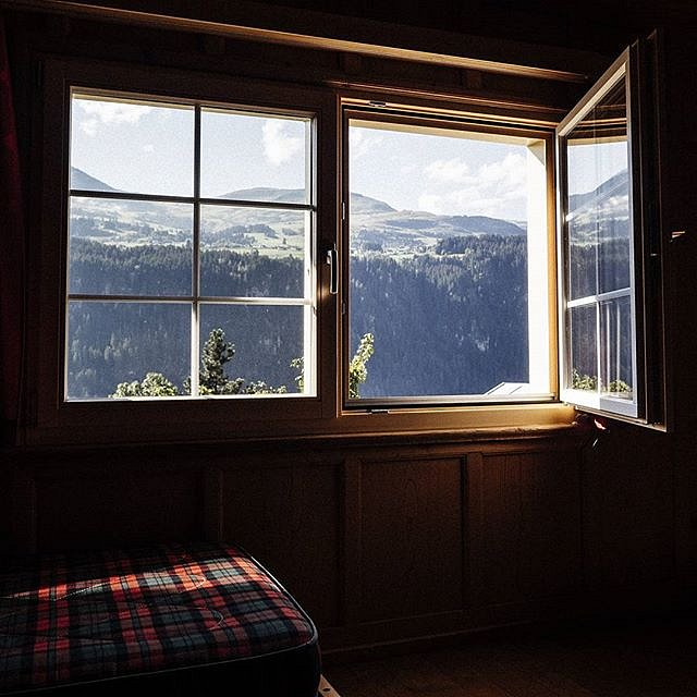 After a stressful time filled with many events and deadlines, it was time to rest and recharge at a very lovely mountain hut.